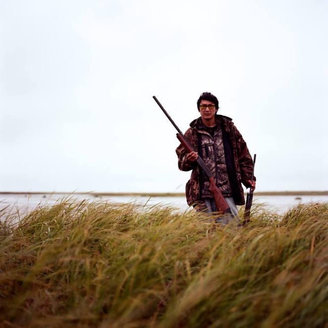 Adolph Smart, Yup'ik Hunter in Quinhagak, Alaska.